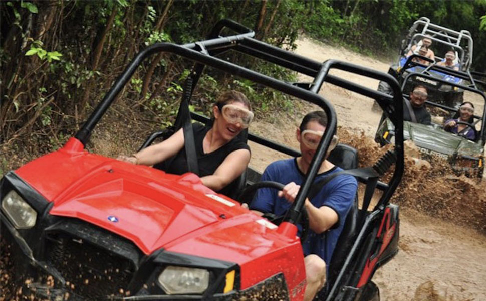 Selvatica Buggy 4x4 and Zip Lines